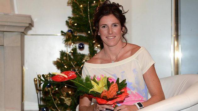 Atletka Zuzana Hejnová měla stromeček ozdobený už týden dopředu.