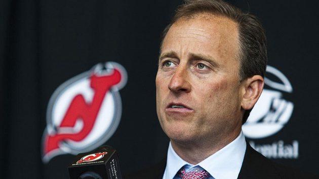 Nový majitel hokejistů New Jersey Devils Josh Harris.