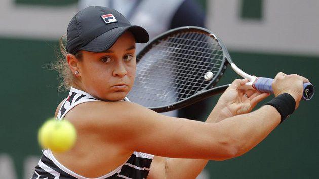 Australská tenisová jednička Ashleigh Bartyová.