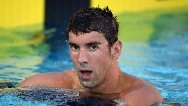 Michael Phelps se musel spokojit až se sedmým místem.