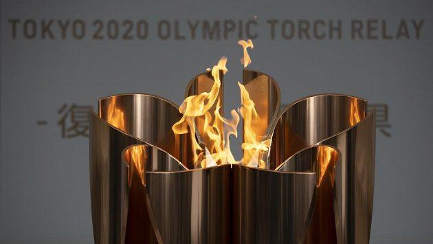 Olympijský oheň se vydává na svou pouť po Japonsku.