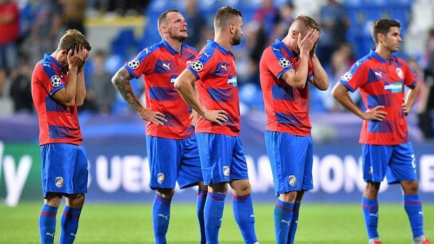 V domácíém zápase se fotbalisté Plzně chytali za hlavu poté, co v nastavení ztratili vítězství nad CSKA v Lize mistrů.