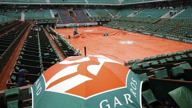 Osmifinálové střetnutí Ivanovičové a Makarovové přerušily rozmary přírody. Program French Open se celý posunul.