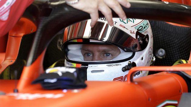 Sebastian Vettel má o čem přemýšlet...