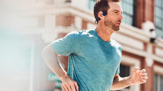 Bezdrátová sportovní sluchátka Aftershokz Trekz Air