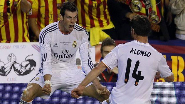Velšan Gareth Bale rozhodl pět minut před koncem o výhře Realu Madrid ve finále Španělského poháru nad Barcelonou.