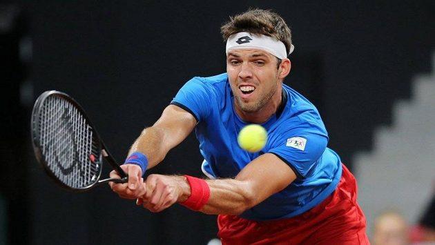 Český tenista Jiří Veselý.