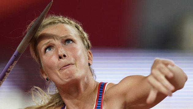 Irena Šedivá prošla do finále oštěpu na MS v Dauhá.