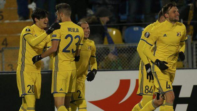 Radost fotbalistů Rostova.