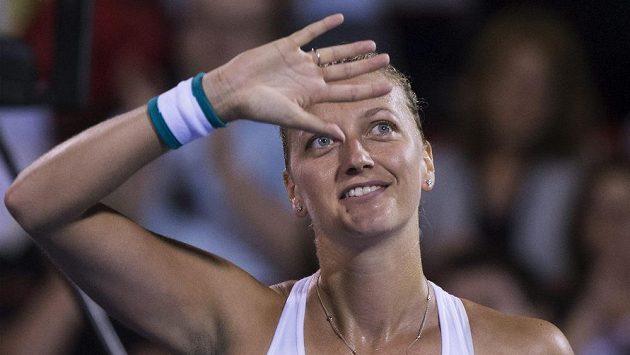 Petra Kvitová postoupila v New Havenu do čtvrtfinále.