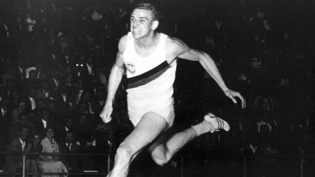 Německý sprinter Armin Hary.
