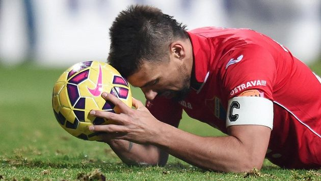 Milan Baroš z Baníku Ostrava je fit a proti Plzni bude hrát.