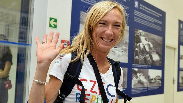 Běžkyně Eva Vrabcová-Nývltová má za sebou maratón na olympiádě.