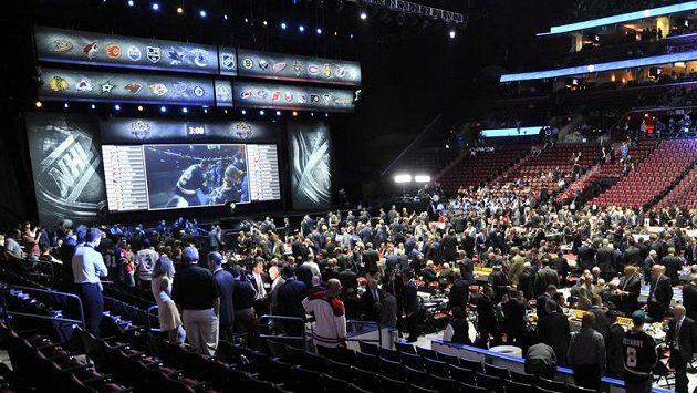 Draft NHL ve floridském BB&T Center.