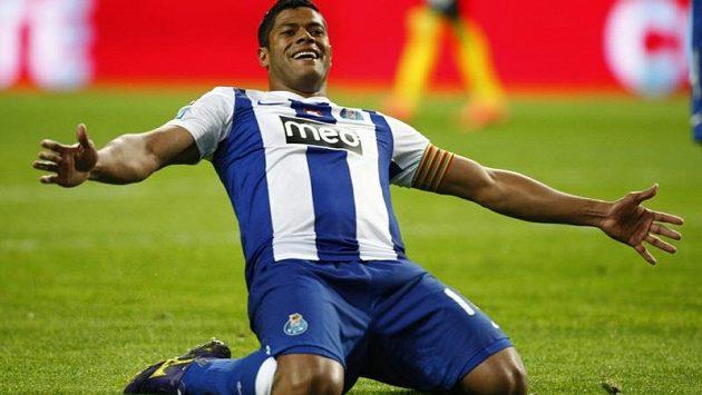 Radost ostrostřelce Hulka v barvách FC Porto
