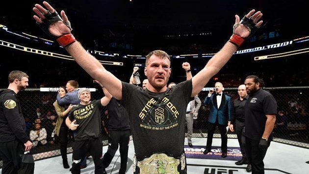 Stipe Miočič, král těžké váhy v UFC.