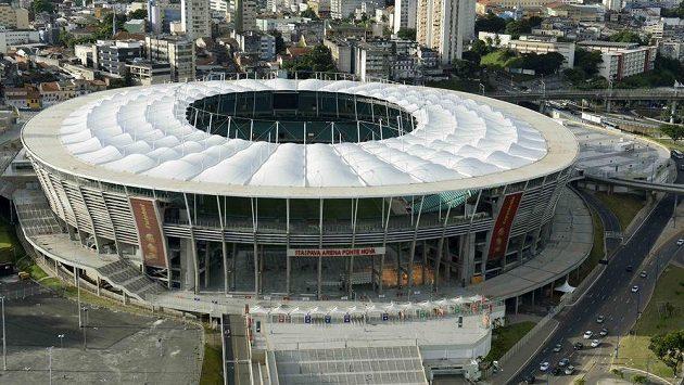Stadión Fonte Nova v brazilském Salvadoru - ilustrační foto.