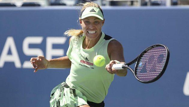 Německá tenistka Angelique Kerberová vypadla na US Open v prvním kole.