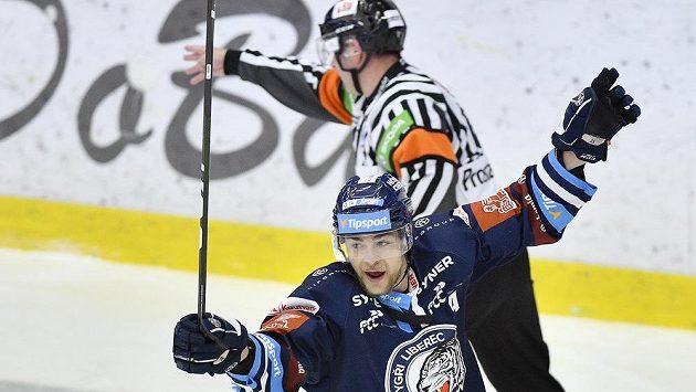 Autor druhého gólu Radan Lenc z Liberce.