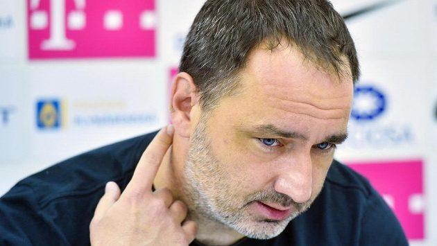 Trenér Slovanu Liberec Jindřich Trpišovský odmítl plzeňskou nabídku.