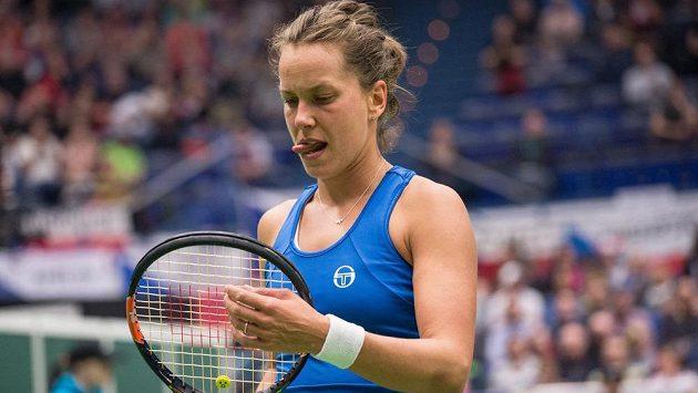 Česká tenistka Barbora Strýcová - ilustrační foto