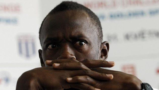 Usain Bolt zřejmě od Pumy dostane tretry nové. Ale co nešťastný vydražitel?!