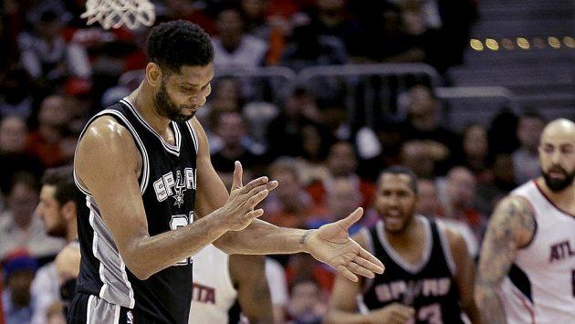 Tim Duncan ze San Antonia Spurs.