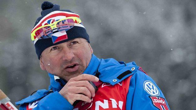 Kouč reprezentačního týmu běžců na lyžích Miroslav Petrásek.