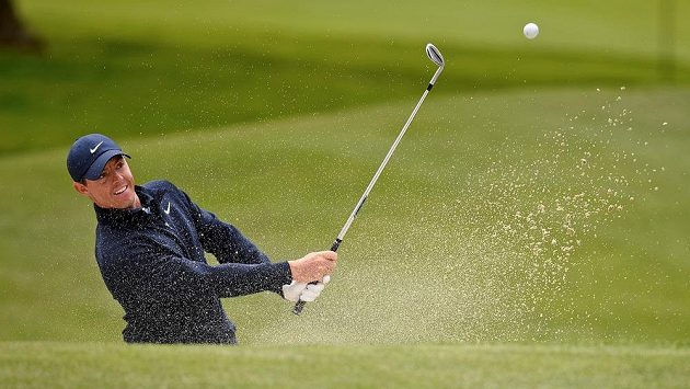 Severoirský golfista Rory McIlroy na turnaji major PGA Championship v San Franciscu.