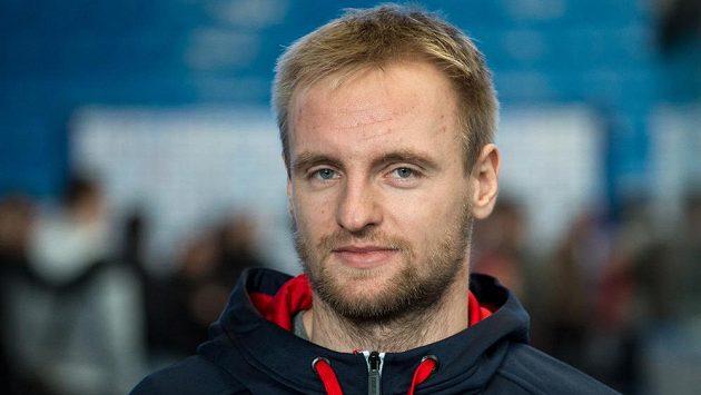 Hokejový obránce Jakub Jeřábek na srazu hokejové reprezentace v Plzni.