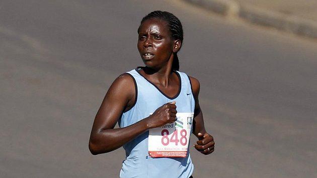 Keňská maratónkyně Eunice Jeptoová