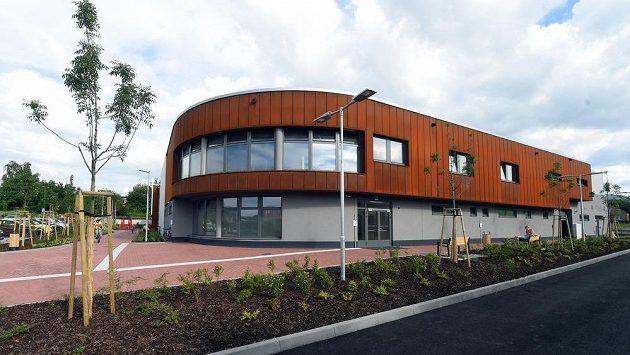 Nová třinecká tréninková hokejová hala Werk Arena.