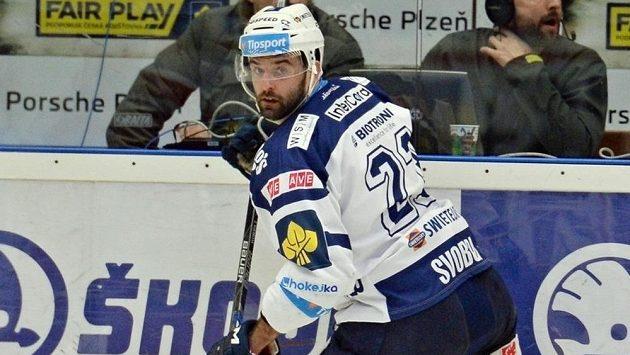 Útočník Tomáš Svoboda rozhodl úvodní čtvrtfinálový duel mezi Plzní a Olomoucí.