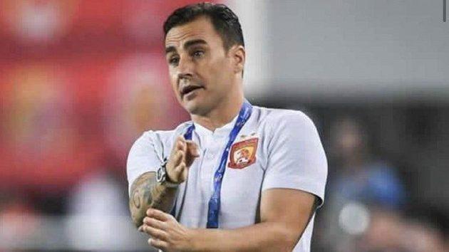 Bývalý italský fotbalista Fabio Cannavaro
