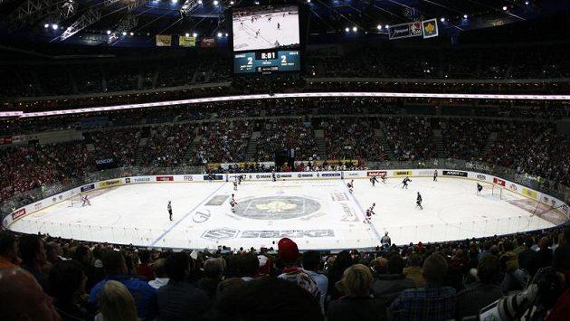 Zaplněná pražská O2 arena - ilustrační foto.