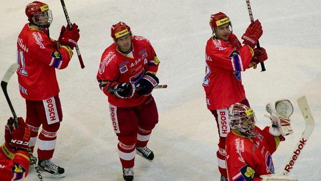 Hokejisté HC Mountfield České Budějovice porazili v ET Plzeň.