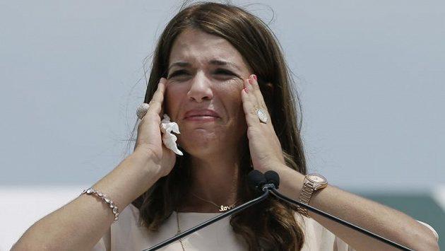 Někdejší světová tenisová jednička Jennifer Capriatiová.