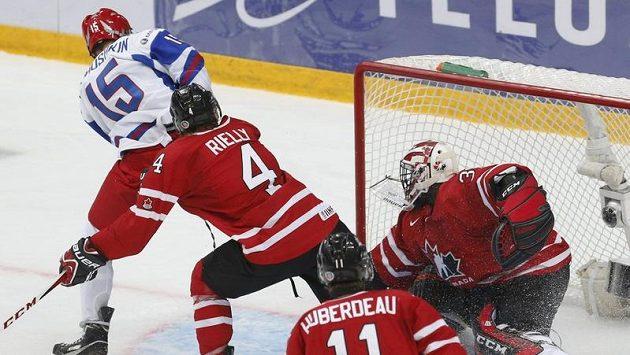 Nikuškin v prodloužení prostřelil Subbana, čímž Rusku zajistil bronzovou medaili.