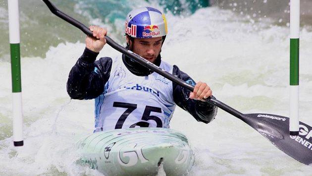 Vodní slalomář Vavřinec Hradilek.