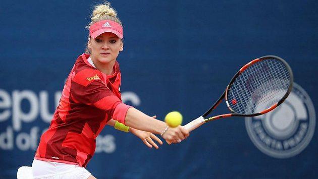 Česká tenistka Tereza Martincová.