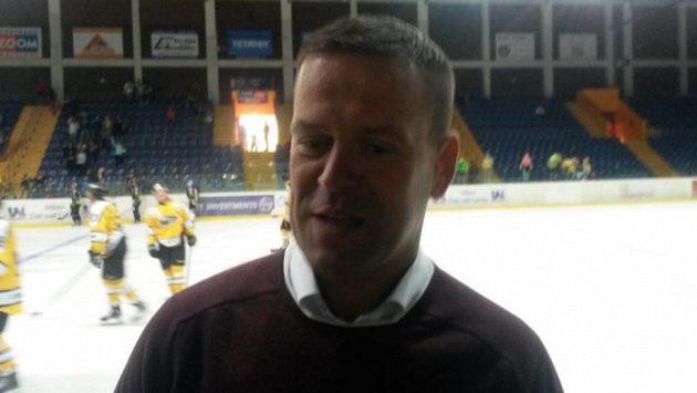 Trenér hokejového Sokolova Karel Mlejnek