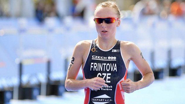Česká triatlonistka Vendula Frintová