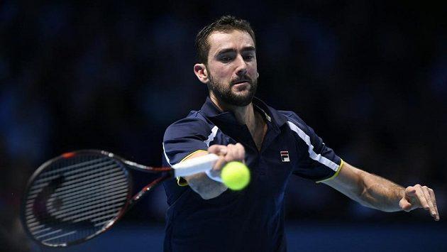 Největší hvězda chorvatského výběru Davis Cupu Marin Čilič.