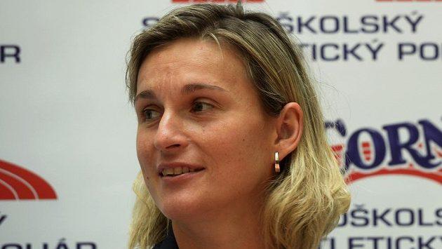 Oštěpařka Barbora Špotáková.