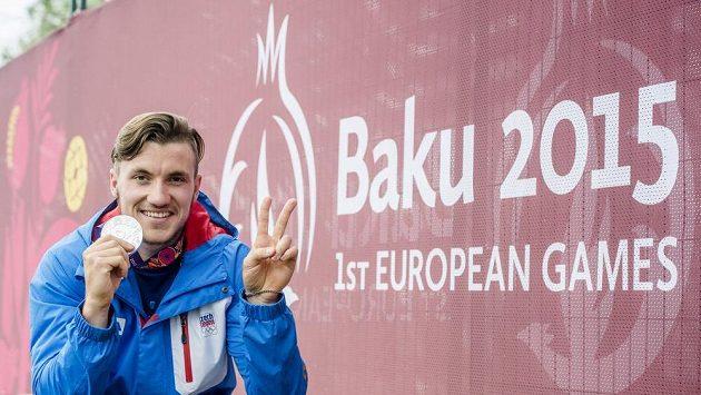 Kanoista Martin Fuksa (na snímku) obsadil na Evropských hrách druhé místo v závodě na 1000 metrů a postaral se o zisk první medaile pro českou výpravu v Ázerbájdžánu.