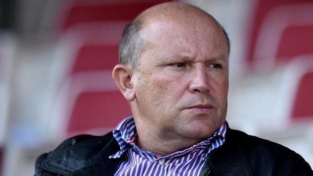 Bývalý majitel Viktorie Žižkov Luděk Vinš.