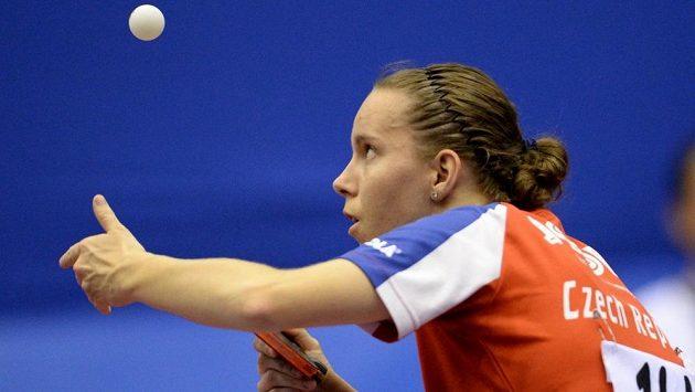 Stolní tenistka Iveta Vacenovská