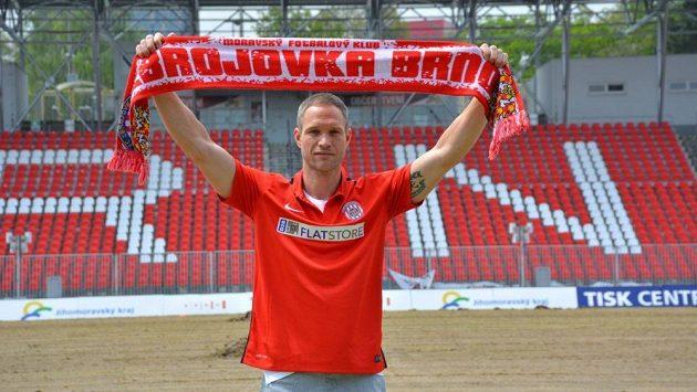 Jan Polák by měl být v nové sezóně oporou brněnských fotbalistů.