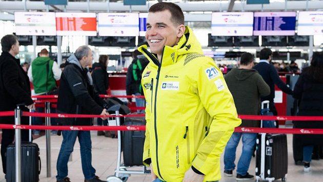 Biatlonista Michal Krčmář.