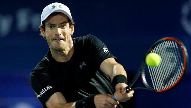 Britský tenista Andy Murray je zraněný.